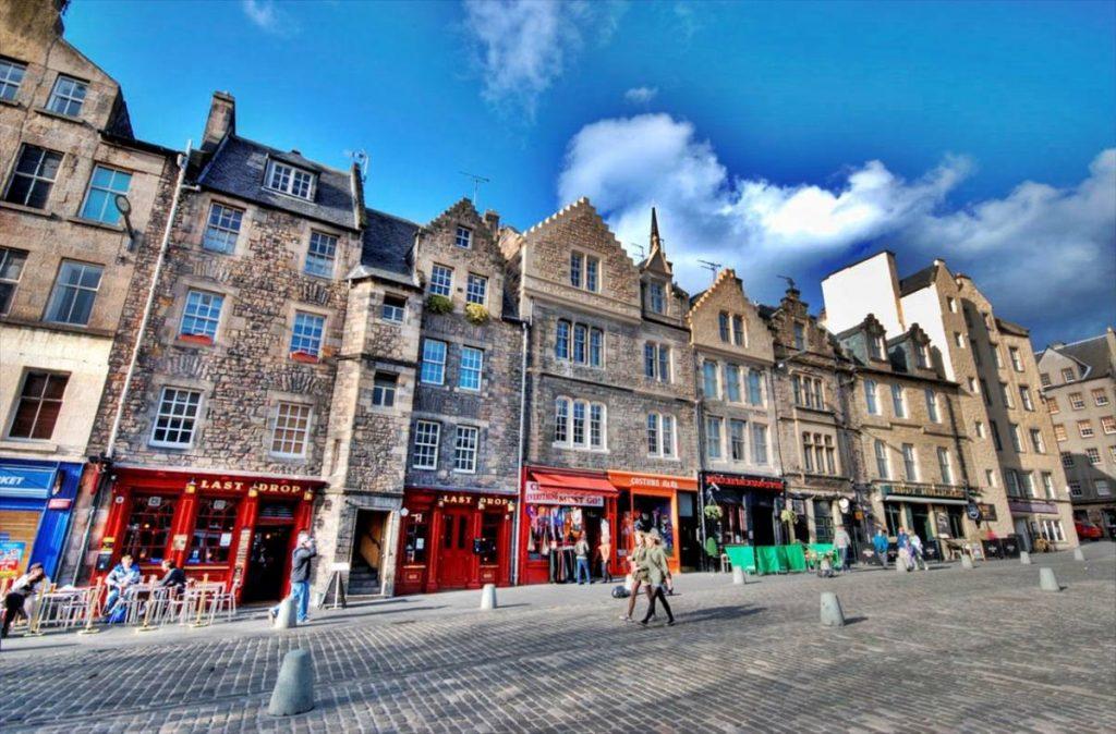 Эдинбург королевская миля