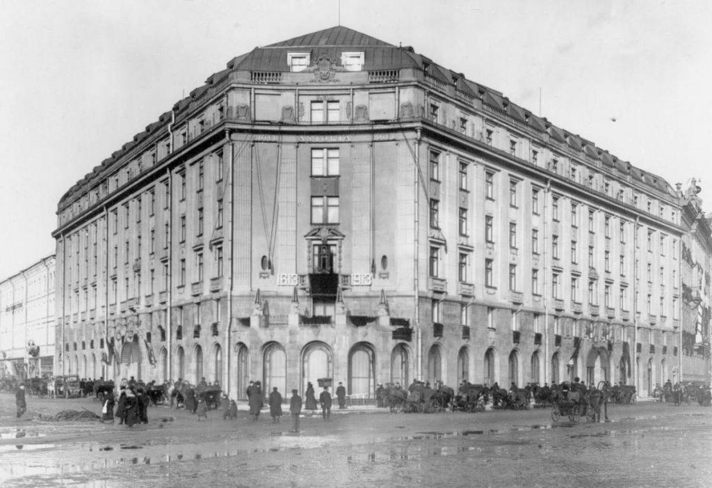 Astoriya fasad 1024x701 - Санкт-Петербург. «Астория»