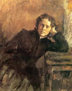 2. V. Serov Portret O. Trubnikovoj 1885 GTG 239x300 - Жены. Музей русского импрессионизма