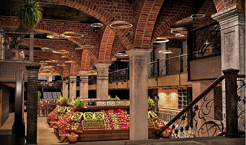 Central Market 2 - Москва. Открытие Центрального рынка